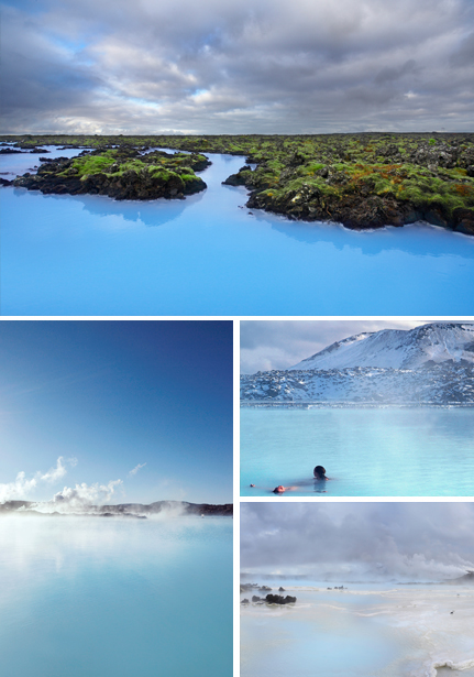 Taking a swim in the blue waters of the Blue Lagoon is a must in Iceland. Photos © Blue Lagoon