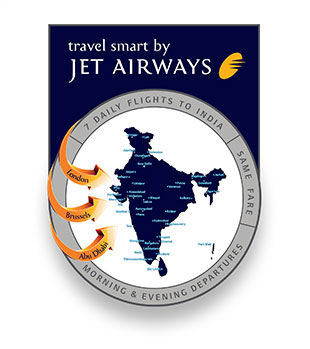 Jet Airways connects Paris to Chennai, India