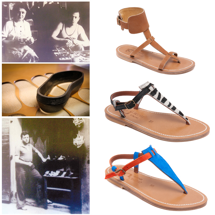 Photo 1: M & Mme K.Jacques, 25 rue Allard, Photo 2: K-Jacques Atelier, Photo 3: M K.Jacques 1933, 25 Rue Allard, Les Chaussures: K-Jacques. Courtesy K-Jacques
