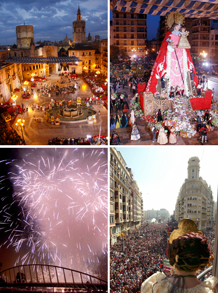 The Las Fallas festival will take place from 14 to 19 March 2014. Over a million visitors expected! Photo by OT Valencia.