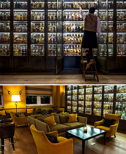 The Scotch, a new Whisky Bar at the Balmoral in Edinburgh