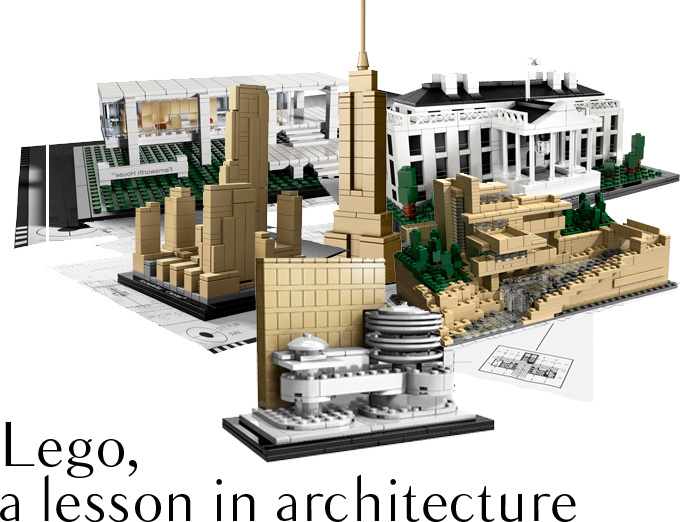 Lego, a lesson in architecture