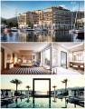 Photo 1, 2 & 3: The Regent Hotel Porto Montenegro. Photo 4: Porto Montenegro Marina. © Ludovic Bischoff.