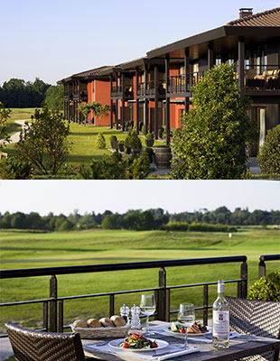 A «Birdie» massage for golfers at the Médoc Resort