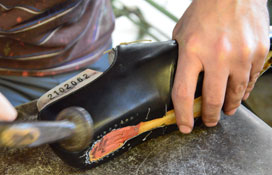The World of Aubercy, French shoemaker