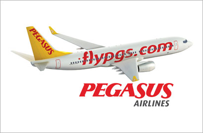 Pegasus connects to Dubai.