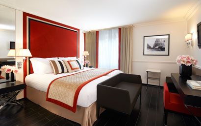 The Hotel Castille Paris wins its fifth star.