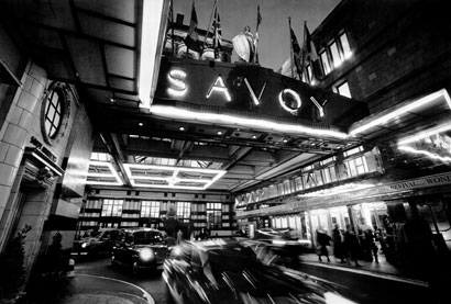 Feel like a rock star at the Savoy in London