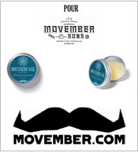 The month of the moustache by Penhaligon's.