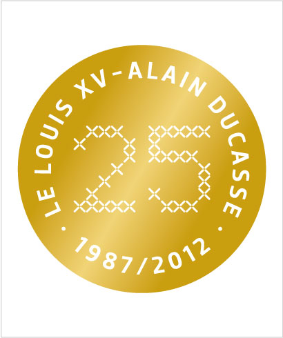 240 chefs to celebrate the 25th anniversary of Louix XV - Alain Ducasse.