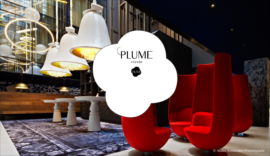 PLUME VOYAGE, the luxury of a light and immobile journey