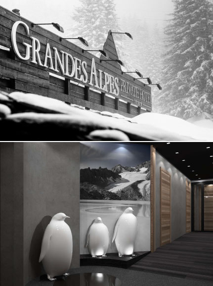 NEW VALMONT SPA IN COURCHEVEL