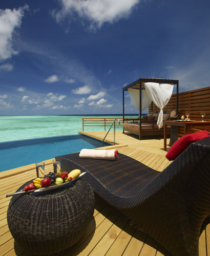 Five new villas at the Baros Maldives Hotel