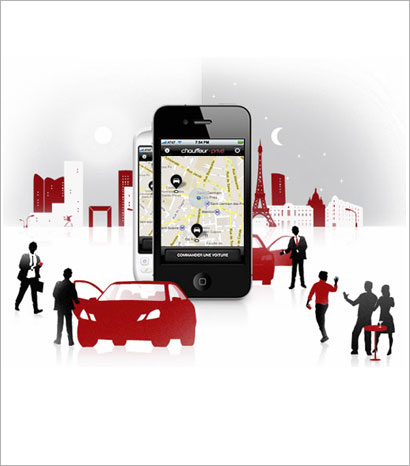 A private chauffeur on your iPhone