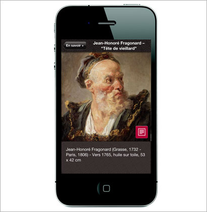 IPad app for the Musée Jacquemart-André
