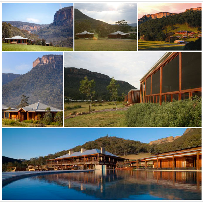 A faultlessly ecological resort Wolgan Valley Resort & Spa
