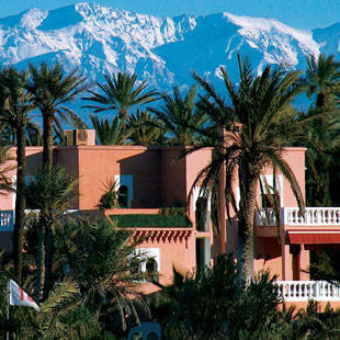 Hotel Palmeraie Golf Palace Marrakech : The Morocco Rally stops at the Palmeraie Golf Palace