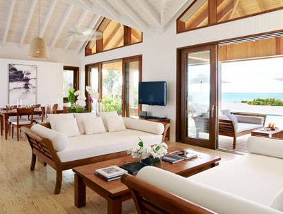 Luxury hotel Parrot Cay by Como in the Turks & Caïcos: Three new villas at the Parrot Cay