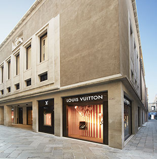 Louis Vuitton Maison Venezia, Italy: new temple of luxury opening in an idyllic setting, just steps away from the Piazza San Marco, in the heart of the city of the Doges