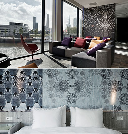 Luxury hotel Mainport, Netherland: Mainport, the first Design Hotels in Rotterdam