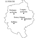 Carte du Perche