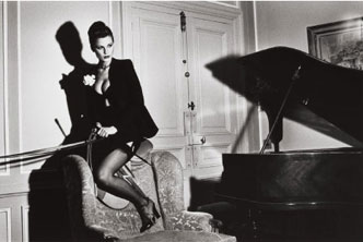 One night with Helmut Newton