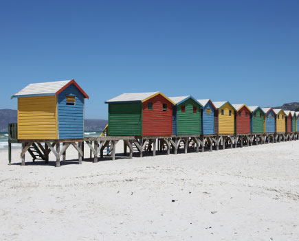 False Bay A une encablure au Sud de Cape Town