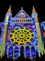 Chartres lit up