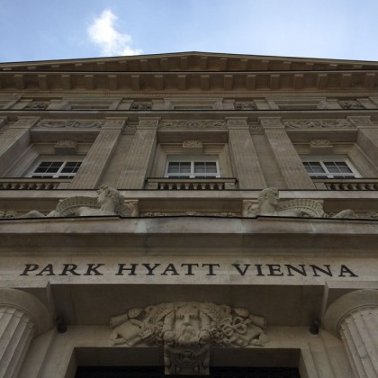 Façade, Park Hyatt Vienna. Photo ©Marie Le Fort