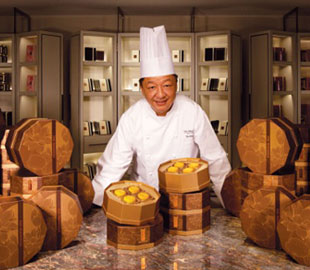 The Peninsula Hong Kong exclusively presents Mooncakes by Chef Yip.