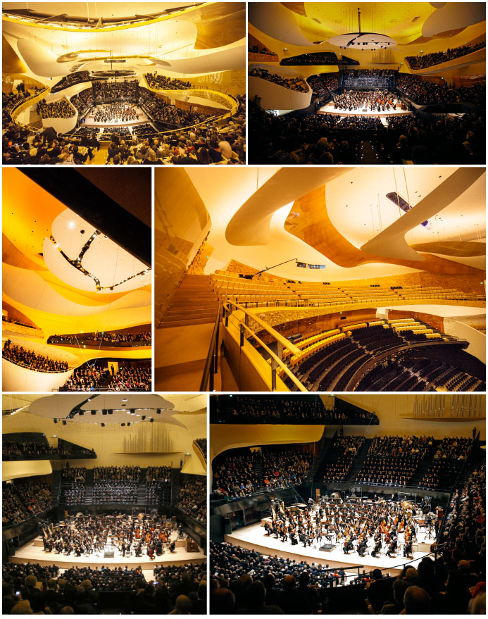 Philharmonie de Paris. Gala concert © Beaucardet- Philharmonie Hall © Charles Platiau © Beaucardet-Grande Philharmonie hall © Charles Platiau. A Break at the Philharmonie december 2015 PLUME VOYAGE @plumevoyagemagazine