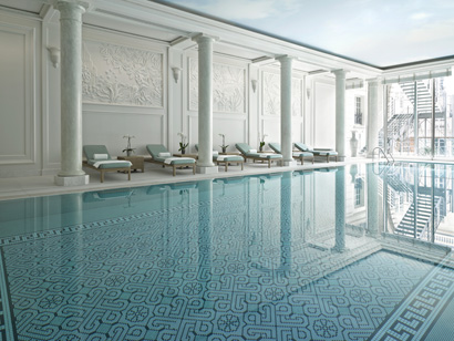 Pool at the Spa, Shangri-La Hotel, Paris