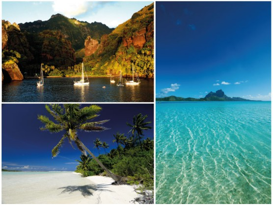Air Tahiti Nui discover the French Polynesia © DR