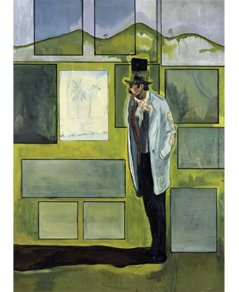 « Peter Doig » à la Fondation Beyeler, Riehen. Metropolitain, 2004. Courtesy Fondation Beyeler