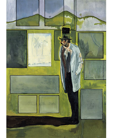 """Peter Doig"" at the Beyeler Foundation, Riehen. Metropolitain, 2004. Courtesy of Beyeler Foundation"