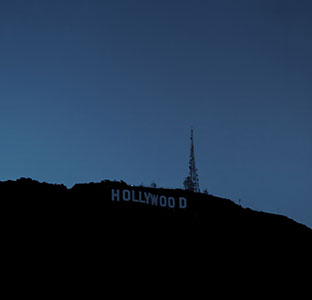 Aude Moreau, Untitled (Hollywood Sign), Avec l'aimable autorisation de la Galerie Antoine Ertaskiran, Montréal © Aude Moreau