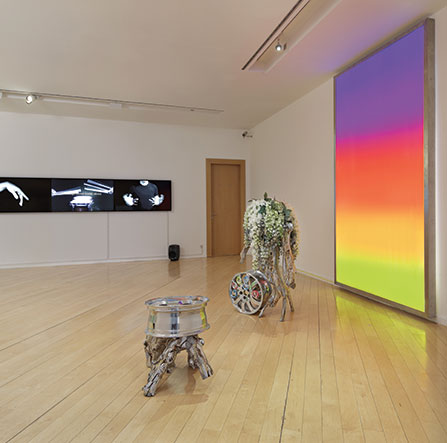 Guan Xiao From a Poem to the Sunset (installation view) Photo © Hans-Georg Gaul, Berlin