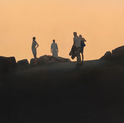Tomorrow, Tim Eitel, Courtesy Galerie EIGEN + ART Leipzig/Berlin, Photo: Uwe Walter, Berlin Representé(e) par:Eigen+Art @Plume Voyage Magazine