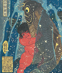 Utagawa Kuniyoshi, Sakata Kaidō-maru Photo: Courtesy of Gallery Beniya @Plume Voyage Magazine