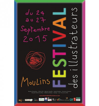 « Festival des illustrateurs » à Moulins