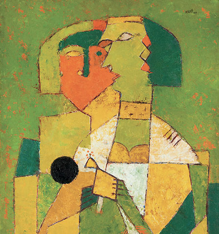 Vasudeo Santu Gaitonde, Private Collection, Vienna-Mumbai @Plume Voyage Magazine