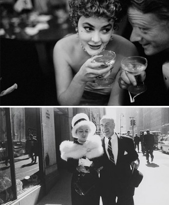 « Garry Winogrand » à la Fondation Mapfre, Madrid. Photo 1: Garry Winogrand, Photo 2: Garry Winogrand, New York 1962. © Garry Winogrand. Courtesy Fondation Mapfre