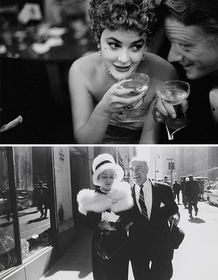 """Garry Winogrand"" at the Mapfre Foundation, Madrid. Photo 1: Garry Winogrand, Photo 2: Garry Winogrand, New York 1962. © Garry Winogrand. Courtesy of Mapfre Foundation"