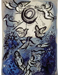 Marc Chagall, The creation,1971 © Marc Chagall
