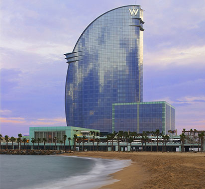 W Barcelone Starwood © DR @Plume Voyage Magazine