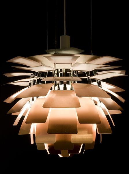« Northern Lights : Scandinavian Design » au Philadelphia Museum, Philadelphie - Artichoke Lamp