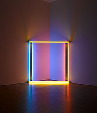 Phares, Dan Flavin (to Donna) © DR