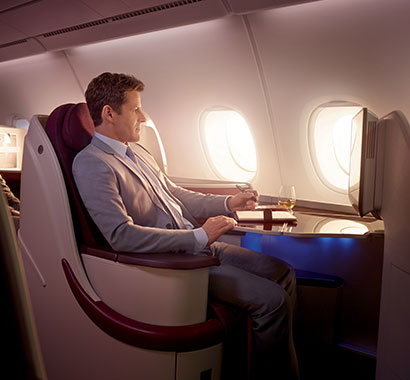 Qatar Airways. Courtesy of Qatar Airways