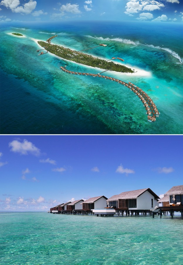 The Residence Maldives, spa Clarins © DR