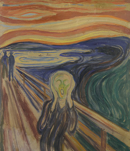 « Les Clefs d'une passion » à la Fondation Louis Vuitton, Paris - Munch Photo © Munch Museum